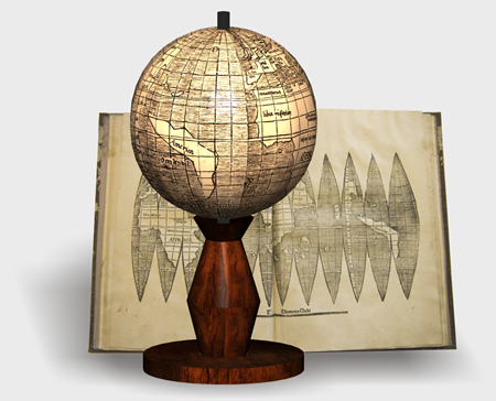 Waldseemuller Globe Papercraft